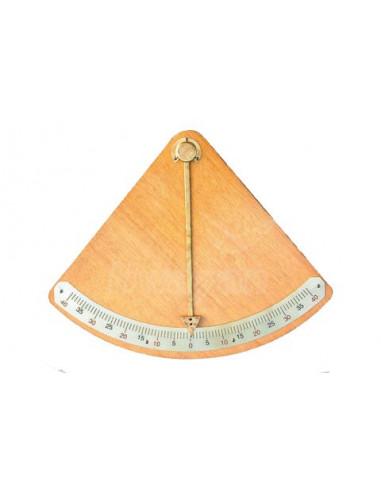 Clinómetro de Madera