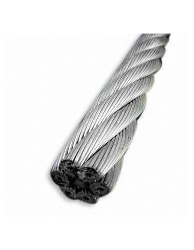 Cable Galvanizado Seco 6x24 + 7FC