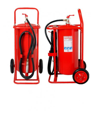 Carro extintor 50 Kilos PQS